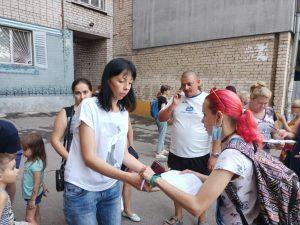 Северокольцевой быть: жители улицы в Запорожье сотнями подписывают обращение против переименования (ФОТО)