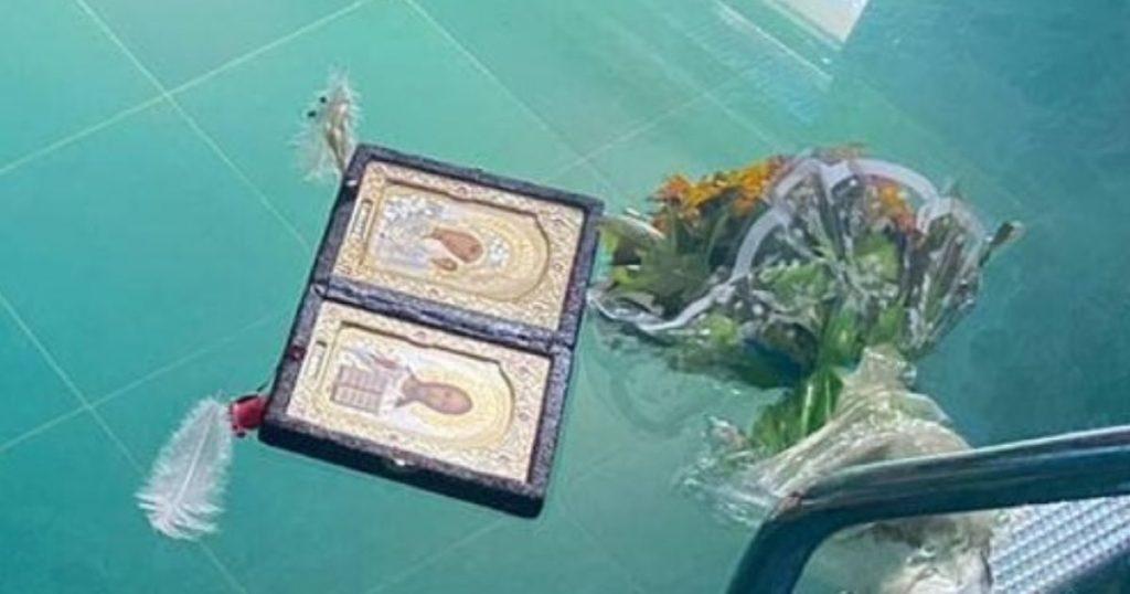 В Днепропетровской области в бассейне с иконой и цветами нашли мертвой семейную пару (ФОТО)