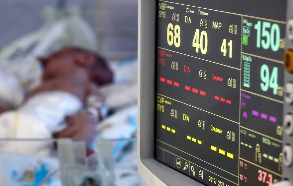 В Запорожской области за 5 месяцев умерло 36 детей в возрасте до 1 года