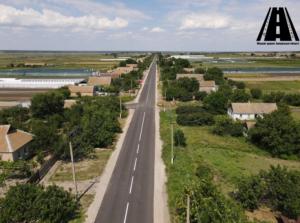 Как выглядят обновленные сельские дороги под Мелитополем (ВИДЕО)