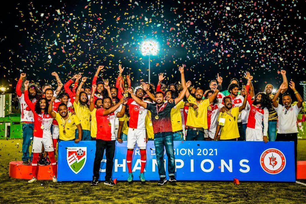 Экс-игроки ГФК «Металлург» стали победителями третьего дивизиона чемпионата Мальдивов (ФОТО)