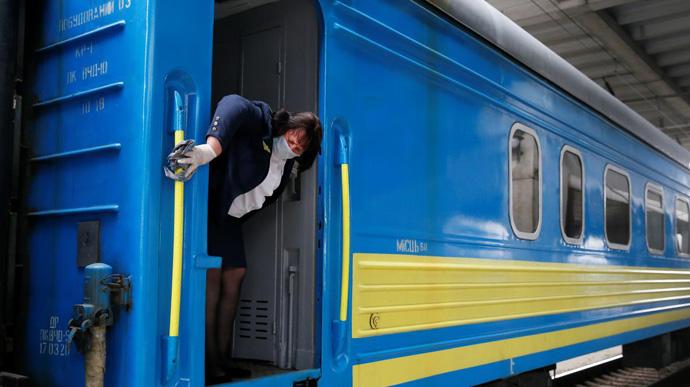 Два поезда с направлением до Запорожья изменят расписание