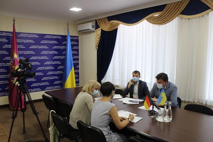 В Запорожье прошла встреча Старуха и консула ФРГ: что обсуждали (ФОТО)