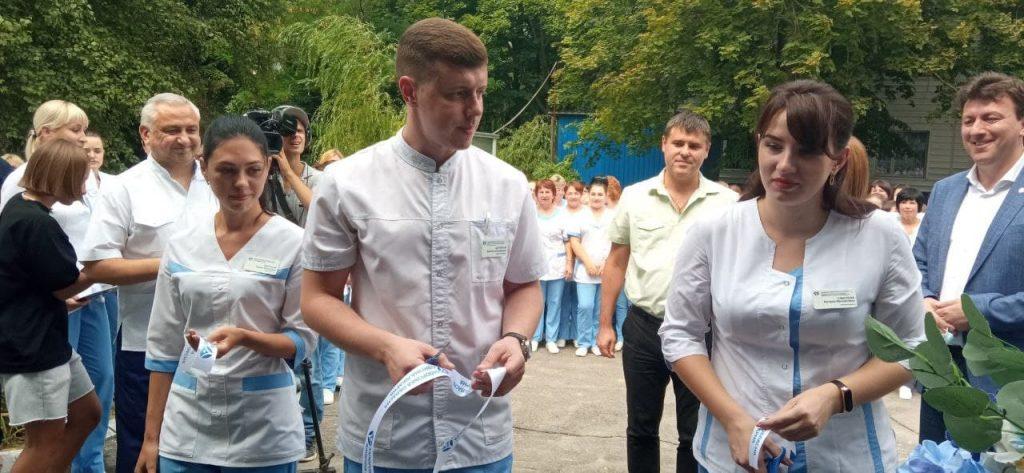 Новое приёмное отделение Запорожской облбольницы готово принимать первых пациентов (ФОТО)
