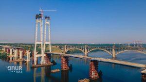 Сроки открытия проезда  по вантовому мосту в Запорожье переносятся