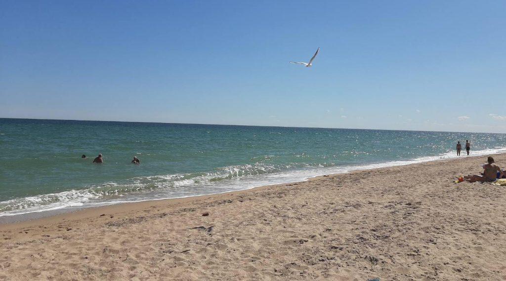 Море в Бердянске остыло до +21, но люди продолжают купаться (ФОТО, ВИДЕО)