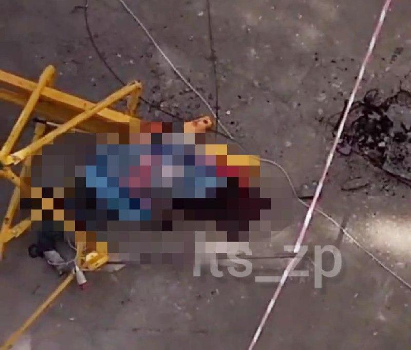 «Крики поставили на уши все общежитие»: в Запорожье рабочий сорвался с 9-го этажа (ФОТО)
