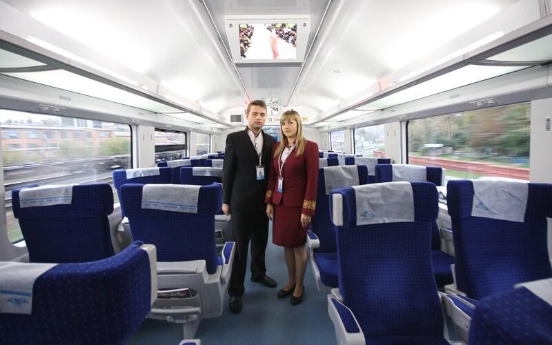 Развлечение за 1 гривну стало доступным в украинских поездах «Интерсити»