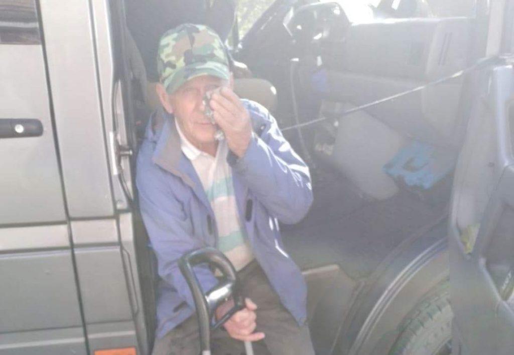 «На лице жуткая гематома, скулу раздуло»: последствия удара маршрутчиком 82-летнего дедушки в Запорожье (ФОТО, ВИДЕО)