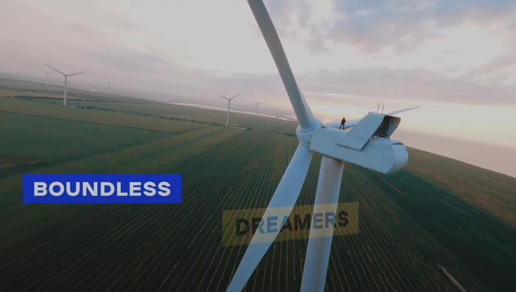 Запорожские ветряки показали в ролике Украины для BBC (ВИДЕО)