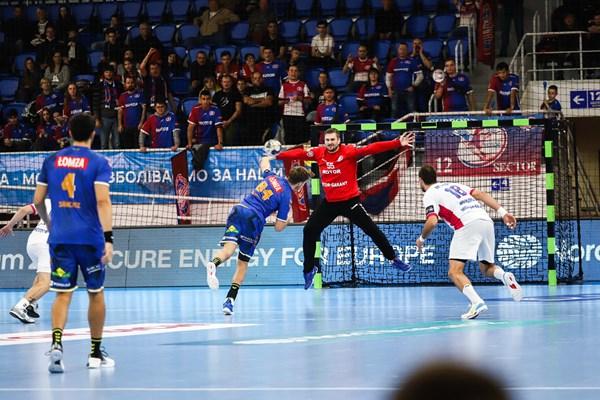 «МОТОР» минимально уступает «Виве Кельце» в третьем раунде Лиги чемпионов (ФОТО, ВИДЕО)