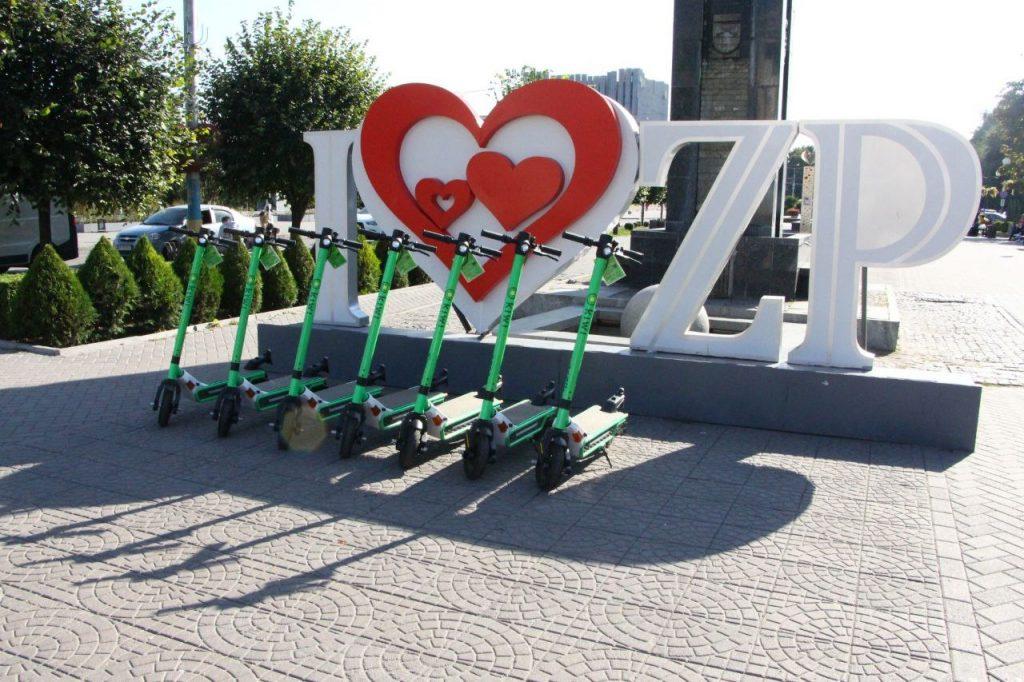 В Запорожье еще одна компания запустила прокат электросамокатов: цены и условия