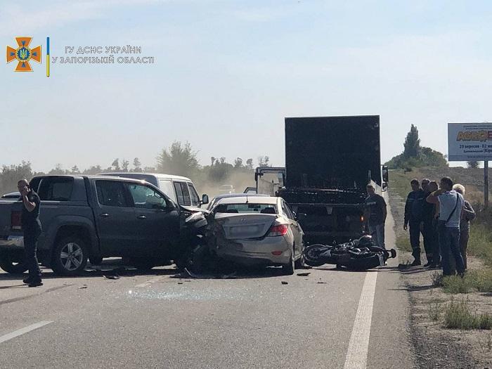 Массовое ДТП на трассе Запорожье-Днепр: в ГСЧС назвали причину происшествия (ФОТО)