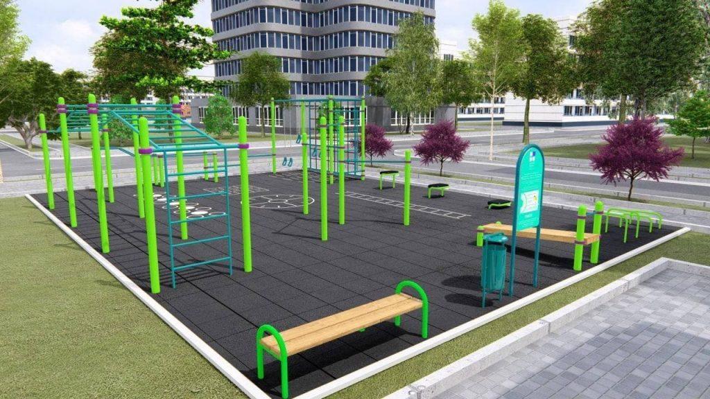 В Запорожье установят 20 новых спортивных площадок (АДРЕСА)