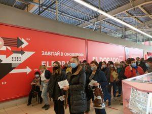 В Запорожской области за выходные резко упали темпы вакцинации