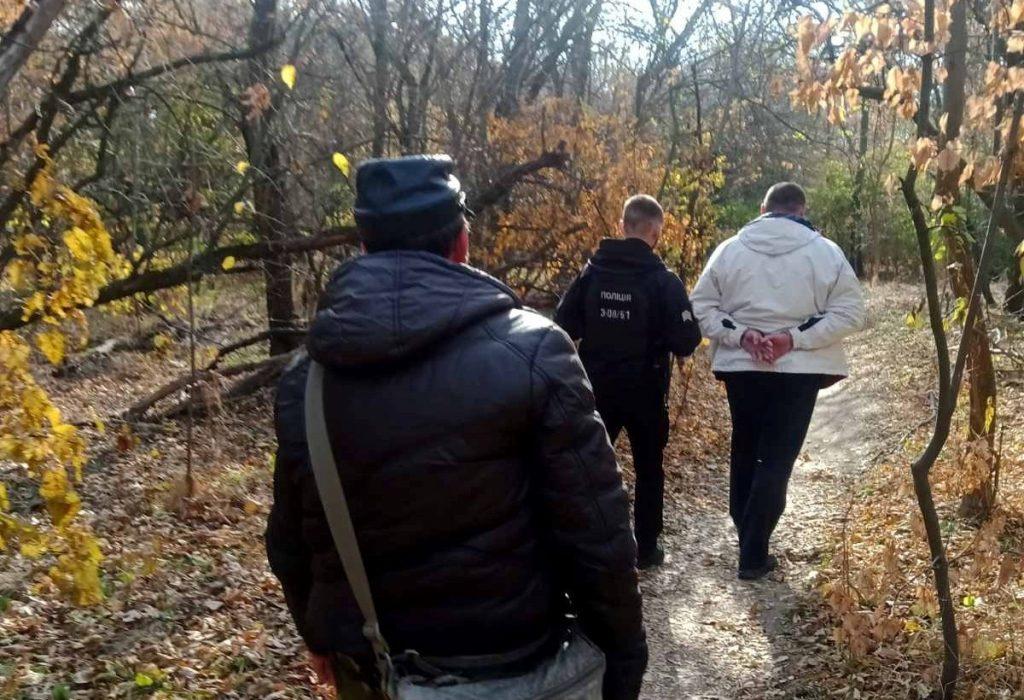 На Хортице задержали мужчину с оружием (ФОТО)