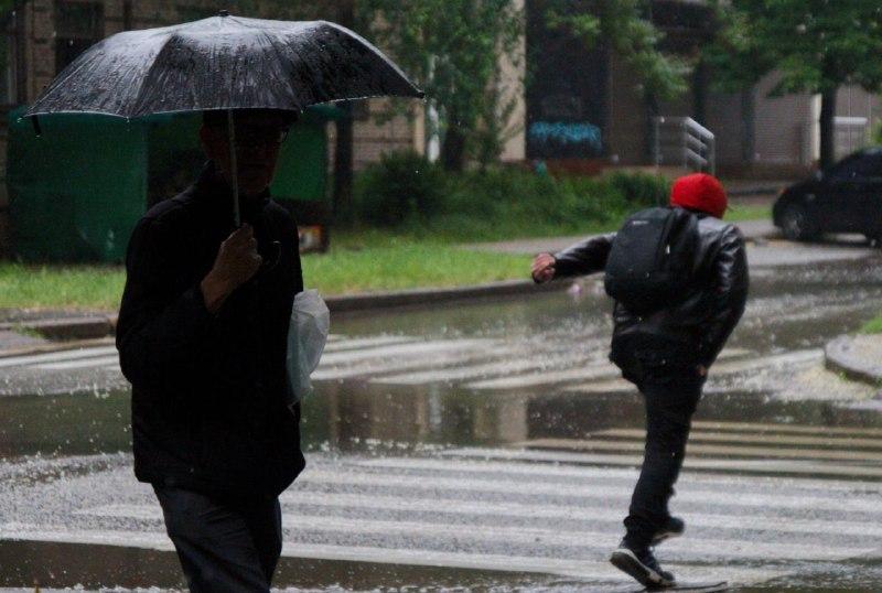 Запорожцам на выходных понадобятся зонты и теплая одежда