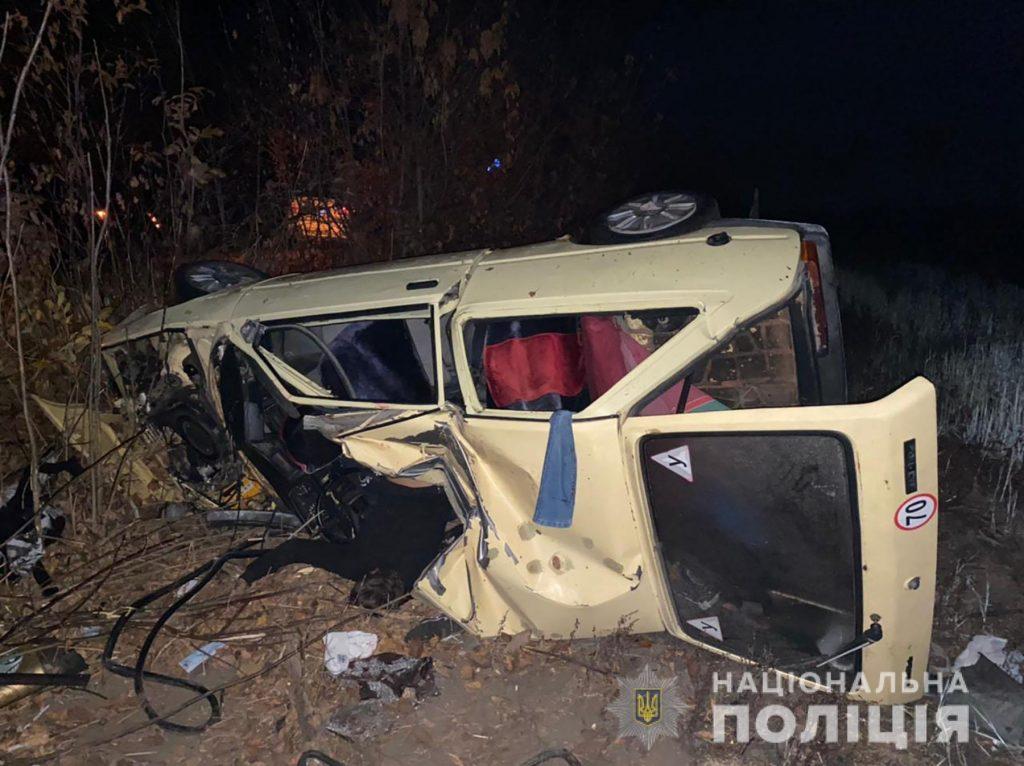 Под Запорожьем в ДТП погибли и пострадали несовершеннолетние пассажиры и водитель (ФОТО)