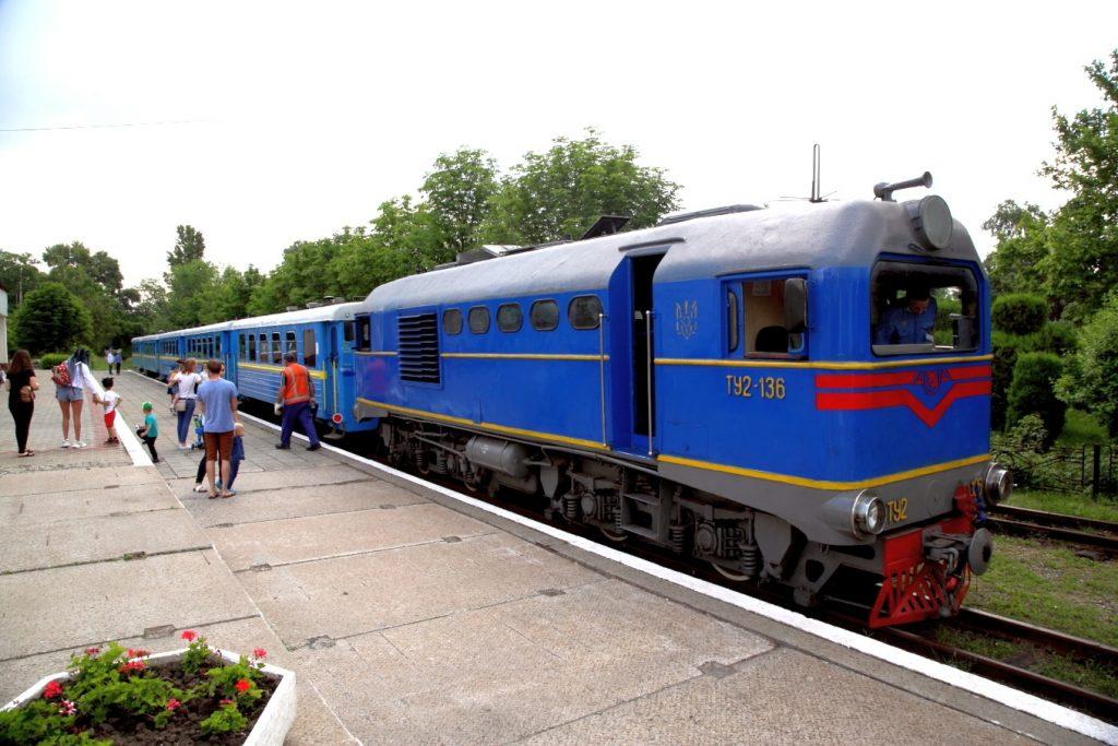 В Запорожье на ДЖД прекратили движение поездов